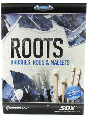 Roots SDX -  Brushes, Rods & Mallets