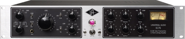 6176 Vintage Channel Strip - Lampowy Preamp i Kompresor