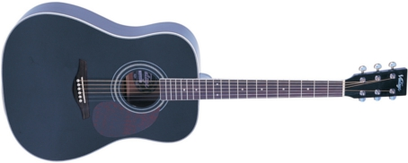 V400BK - WESTERN GUITAR, BLACK