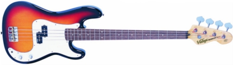 V4SB - BASS GUITAR, SUNBURST