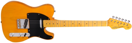 V52BS - ELECTRIC GUITAR, BUTTERSCOTCH