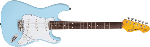 V6LB - ELECTRIC GUITAR, LAGUNA BLUE