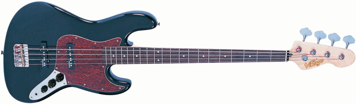 VJ74BLK - BASS GUITAR, GLOSS BLACK